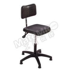 MEY W5系列工作椅 W5-TG-PU 坐垫尺寸:380×400mm 坐垫材质:聚氨酯 可调节高度:505~630mm  把