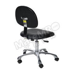 安稳盈 防静电PU工作椅 ZKH-Y-07 坐垫材质:防静电PU 皮革 坐垫尺寸:440×400mm  把
