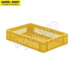 皇加力 欧式可堆叠周转箱 512392 单箱承重:30kg 内径尺寸:551×352×110mm  包