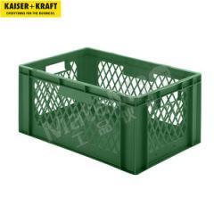 皇加力 欧式可堆叠周转箱 519666 单箱承重:40kg 内径尺寸:551×352×255mm  包