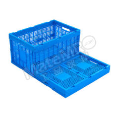 ZNKIA 600系列折叠筐 ZJKS604033W-1 颜色:蓝色 材质:PP(聚丙烯) 内径尺寸:560×360×315mm  个