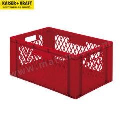 皇加力 欧式可堆叠周转箱 519660 单箱承重:40kg 内径尺寸:551×352×255mm  包