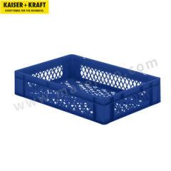 皇加力 欧式可堆叠周转箱 918751 内径尺寸:长×宽×高551×352×110mm  包