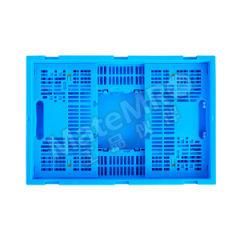 ZNKIA 600系列折叠筐 ZJKS6040255W-1 颜色:蓝色 材质:PP(聚丙烯) 内径尺寸:560×360×240mm  个