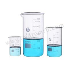 垒固 玻璃高型烧杯 B-000460-6  盒