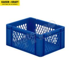 皇加力 欧式可堆叠周转箱 510974 内径尺寸:356×255×165mm 单箱承重:25kg  包