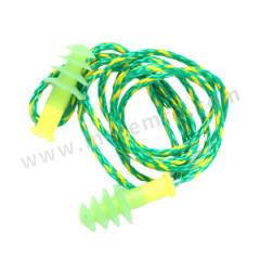 霍尼韦尔 Fusion圣诞树型硅胶耳塞 FUS30S-HP 是否带线:是 SNR:28dB 材质:硅胶  副