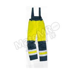 代尔塔 PU涂层涤纶荧光防寒裤 404014 颜色:黄色+藏青色  条