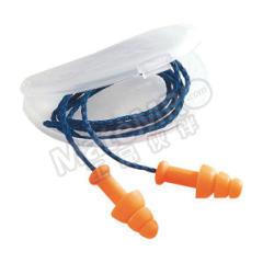 霍尼韦尔 SmartFit圣诞树型硅胶耳塞 SMF-30 是否带线:是 材质:硅胶 SNR:30dB  副
