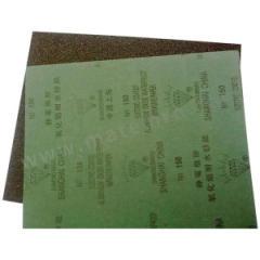 钻石 钻石耐水砂纸 SS-400 磨料材质:氧化铝 包装数量:100张/包 背基材质:重型纸 规格:230×280mm  包