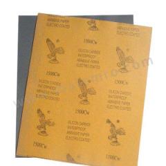 鹰牌 鹰牌水砂纸 YBQ-CW100 背基材质:牛皮纸 包装数量:100张/包 磨料材质:碳化硅 规格:230×280mm  包