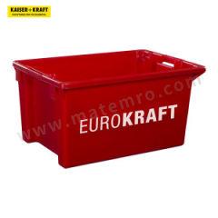 皇加力 可插可堆式周转箱 520929 单箱承重:35kg 内径尺寸:450×330×295mm  包