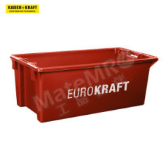 皇加力 可插可堆式周转箱 520936 单箱承重:35kg 内径尺寸:650×330×298mm  包
