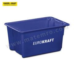 皇加力 可插可堆式周转箱 520905 内径尺寸:210×145×145mm 单箱承重:14kg 颜色:蓝色  包