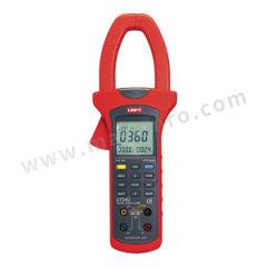 优利德 钳形谐波功率计 UT243 交流电压精度:±(1.2%+5) 交流电流量程:50A/250A/1000A 外形尺寸(长×宽×高):303×112×39mm 重量:601g  台