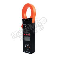 胜利 钳形表 VICTOR 6016C 钳口张开度:38mm 交流电压量程:2V-750V 直流电压量程:200mV-1000V 电阻量程:200Ω-20MΩ  台