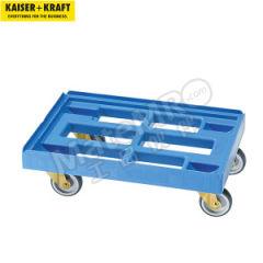皇加力 周转箱搬运车 968453 车体材质:聚乙烯(低压PE/HDPE) 适用箱子尺寸:长×宽600× 400mm  个