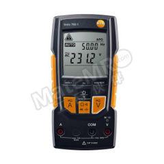 德图 数显万用表 testo 760-1 直流电压量程:0.1~600V 交流电压量程:0.1 mV ~ 600 V 电阻量程:0.1 ~ 40.00 兆欧姆  台