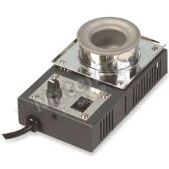 快克 无铅锡炉400W QUICK100-6CA 温度稳定度:±5℃ 温度范围:150~450℃ 重量:1.34kg  台