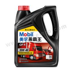 美孚 黑霸王CF4柴油机油-红盖 DELVAC15W40  桶