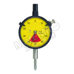 三丰 指针式百分表-标准单转型、无误读,防水型 2929S-60 每圈行程:1mm 分度值:0.01mm 测力:<2N 表盘读数:40~0~40mm 表盘直径:Φ57mm  只