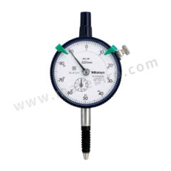 三丰 指针式百分表-防水型 2046SB-60 每圈行程:1mm 分度值:0.01mm 表盘读数:±0~100mm 测力:<2.5N 表盘直径:Φ57mm  只