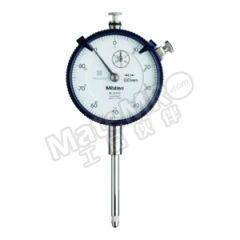 三丰 指针式百分表-标准型 2052SB-19 每圈行程:1mm 分度值:0.01mm 表盘读数:±0~100mm 测力:<2.5N 表盘直径:Φ57mm  只