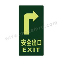 安赛瑞 经济型自发光地贴(安全出口) 21611  包