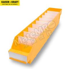 皇加力 货架储物盒 903106 颜色:黄色  包