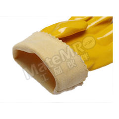 誉丰 黄色浸塑手套 128  付