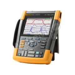 福禄克 手持式示波表 FLUKE-190-102/AU 安全等级:1,000V CAT III/600V CAT IV (EN61010-1) 采样率:1.25 GS/s 测量输入通道数:2  台