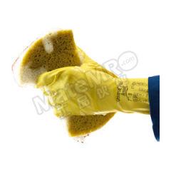 安思尔 高级黄色天然橡胶手套 87-650  副