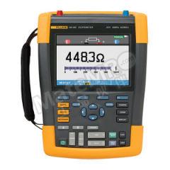 福禄克 手持式示波表 FLUKE-190-062/AU 安全等级:1,000V CAT III/600V CAT IV (EN61010-1) 测量输入通道数:2 采样率:625 MS/s  台