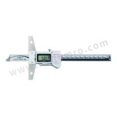 三丰 IP67防水防尘数显深度尺 571-252-20 是否可数据输出:是 测头尺寸:5mm 分辨率:0.01mm 精度:±0.02mm 基座长度:100×6mm  把