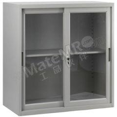 集大 玻璃移门文件柜 CAB-BY-9 层板配置:一块层板  台
