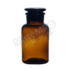 垒固 棕色大口试剂瓶 B-005926-6 容量:1L  盒