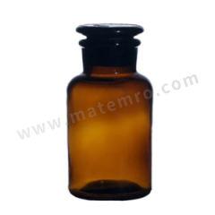 垒固 棕色大口试剂瓶 B-005923-9 容量:125mL  盒
