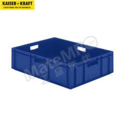 皇加力 欧式可堆叠周转箱 510392 单箱承重:80kg 内径尺寸:740×545×200mm  包