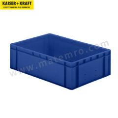 皇加力 欧式可堆叠周转箱 508805 单箱承重:45kg 内径尺寸:551×352×165mm  包