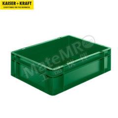 皇加力 欧式可堆叠周转箱 508759 单箱承重:30kg 内径尺寸:356×255×110mm  包