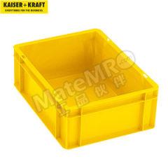 皇加力 欧式可堆叠周转箱 120027 单箱承重:20kg 内径尺寸:356×255×40mm  包