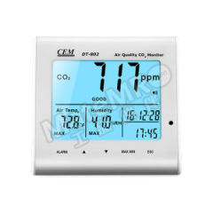 华盛昌 二氧化碳测试仪 DT-802 工作温度:-5~50℃  台