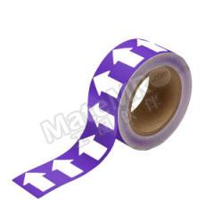 安赛瑞 管道流向箭头带(紫底白箭头) 33531  卷