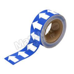 安赛瑞 反光管道流向箭头带(蓝底白箭头) 33528  卷