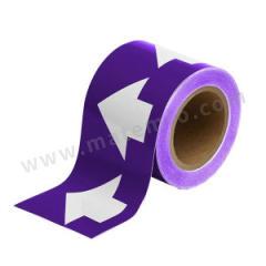 安赛瑞 管道流向箭头带(紫底白箭头) 33532  卷
