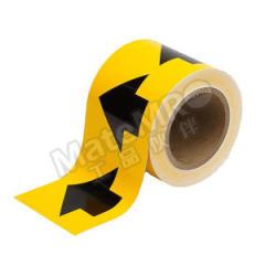 安赛瑞 管道流向箭头带(黄底黑箭头) 33502  卷