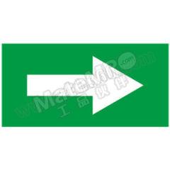 安赛瑞 管道流向箭头标识贴(绿底白箭头) 15426  张