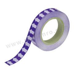 安赛瑞 管道流向箭头带(紫底白箭头) 33530  卷