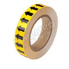 安赛瑞 管道流向箭头带(黄底黑箭头) 33500  卷