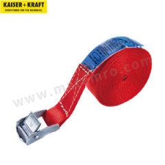 皇加力 货物捆扎带 968853 挂钩类型:带夹紧锁的单件式 带宽:25mm  包